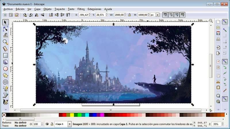 Programas de Diseño Grafico gratis Inkscape