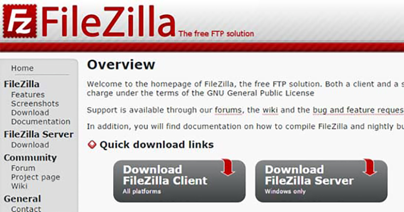 Programas Gratis Para Pc filezilla