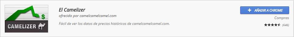 Extensiones Chrome El Camelizer