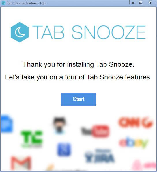 Extensiones Chrome Tab Snooze Configurar