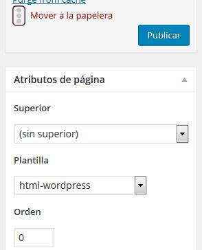 blog wordpress mas profesional atributo