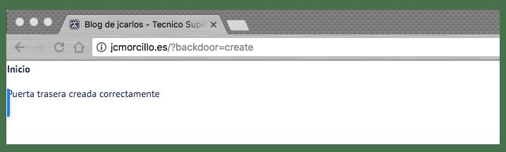Crear puerta trasera en WordPress facilmente_crear