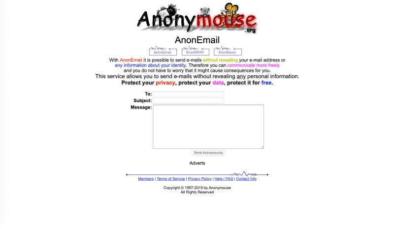 enviar correos electrónicos sin revelar