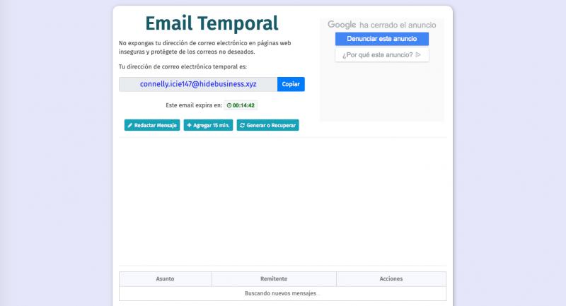 correo web más utilizados