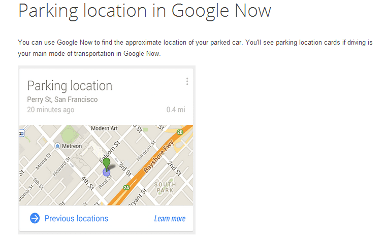 20 Características de Google que desconoce donde aparcaste