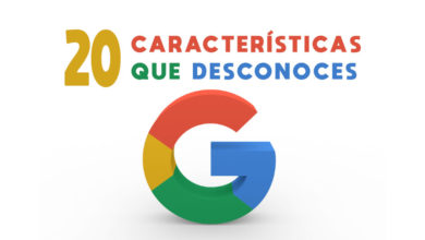 20 características que desconoces de google