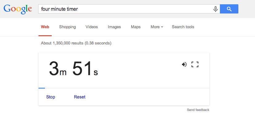 20 Características de Google que desconoces tiempo