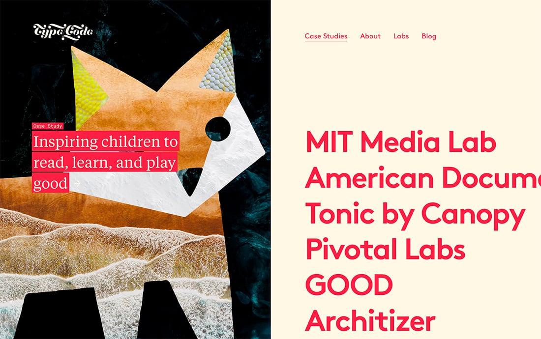 Optimado búsqueda 13 ejemplo de Tendencia en diseño web moderno para 2020