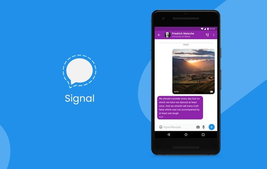 Imagen 2 Signal 2 Alternativa a WhatsApp en 2020