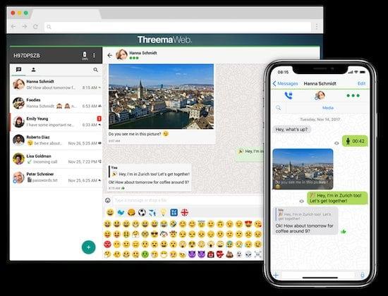 Threema 1 Alternativa a WhatsApp en 2020